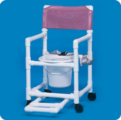 Standard Line Shower Chair Commode - VLSC17PFRSB