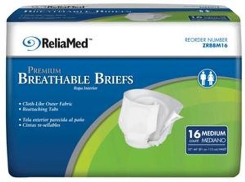 ReliaMed Premium Breathable Briefs