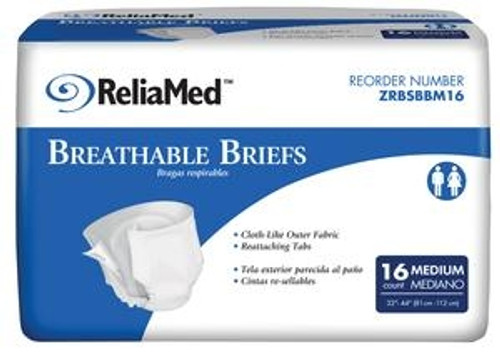 ReliaMed Basic Breathable Briefs