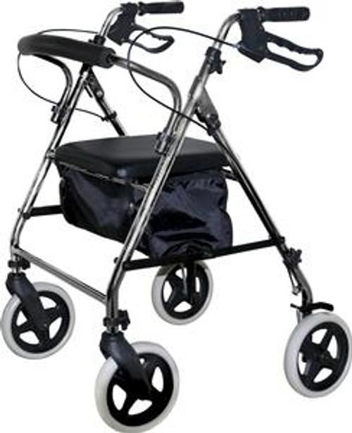 KD Rollator, Soft Seat, Silver - Item #: ZCHKDSIL