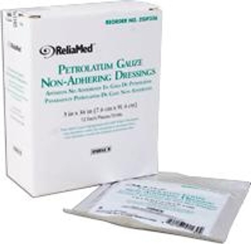 ReliaMed Petroleum Impregnated Gauze Non-Adhering Dressing