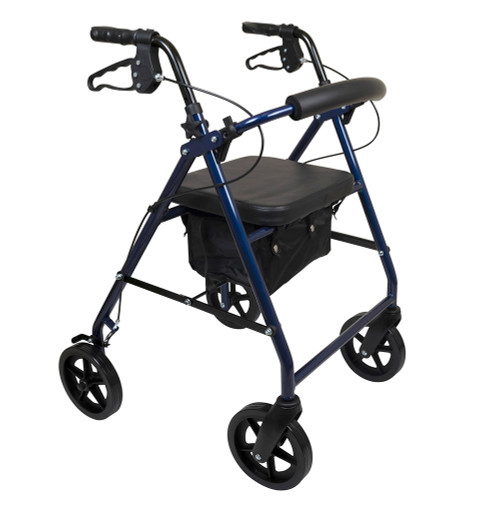 ProBasics Deluxe Aluminum Rollator with 8-inch Wheels