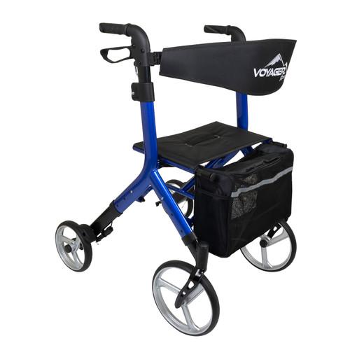 Voyager Adjustable Height Euro-Style Rollator