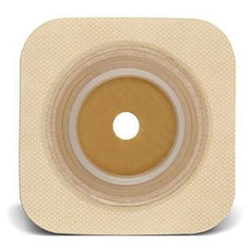 """ConvaTec SUR-FIT Natura Stomahesive Up to 1-1/4"""" Cut-to-Fit Skin Barrier, 1-3/4"""" Flange, Tan - Box of 10"""
