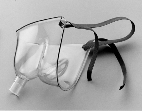 Oxygen Face Tent Salter Labs Under the Chin Adult One Size Fits Most Adjustable Neck Strap