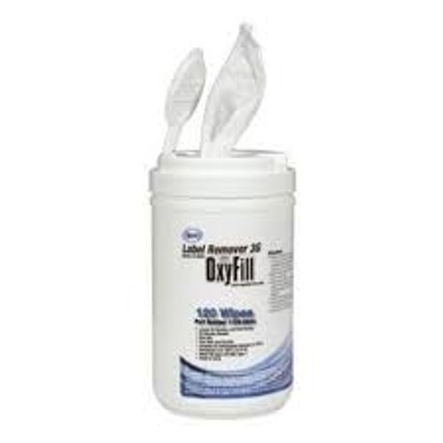 OxyFill Cylinder Label Remover Wipes 1109-5578