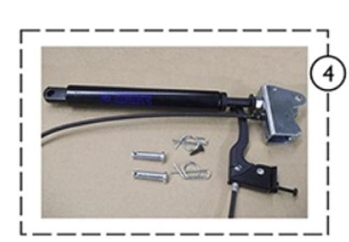 Gas Spring w/Hndl Cbl Brkt and Pin 9153642782