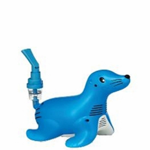 Sami the Seal with Sidestream Compressor Nebulizer System Medication Bowl Pediatric Aerosol Maskc