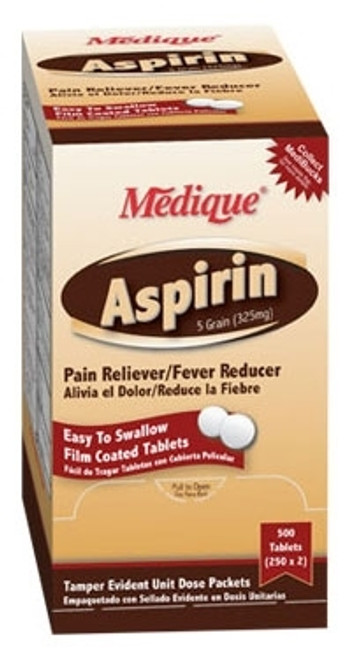 Pain Relief Aspirin