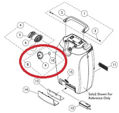 Kit Patient Outlet Filter Firestop 9153653878