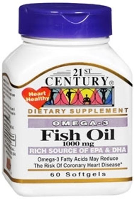 Fish Oil Supplement 21st Century