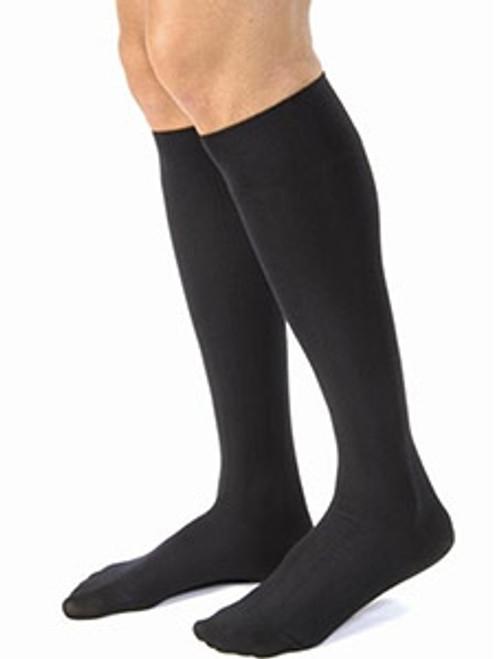 Stocking Knee Mens Black Small