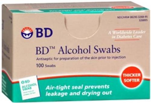 SWAB ALCOHOL REG