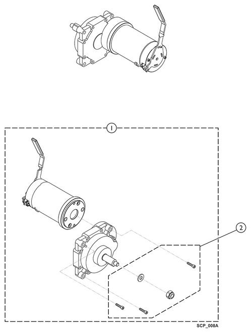 Kit Motor Hardware 9153654268