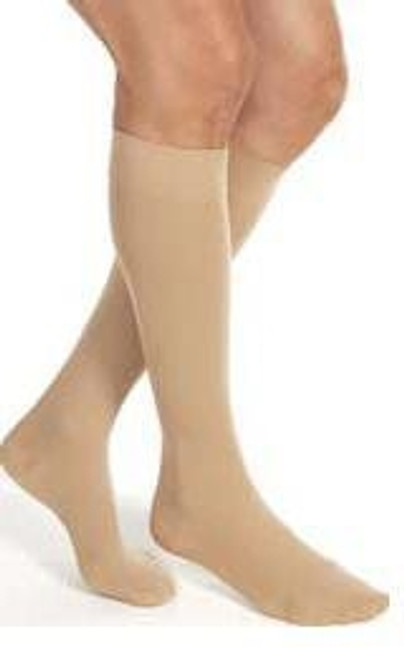 Compression Stockings JOBST Relief Knee High Black Closed Toe