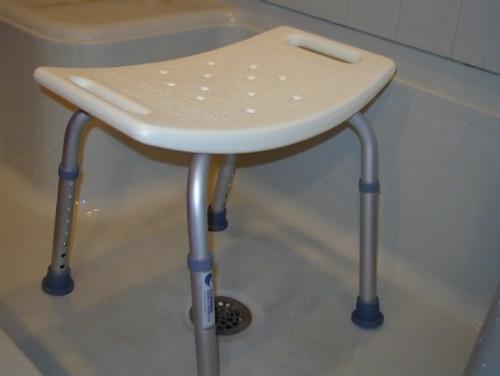 Econo Aluminum Shower Bench without Back