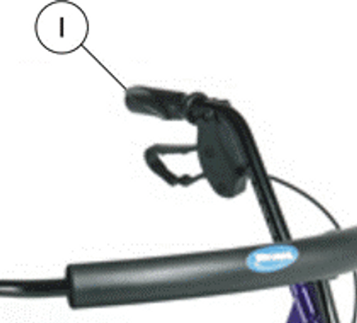Replacement Hand Grips for Invacare Rollators