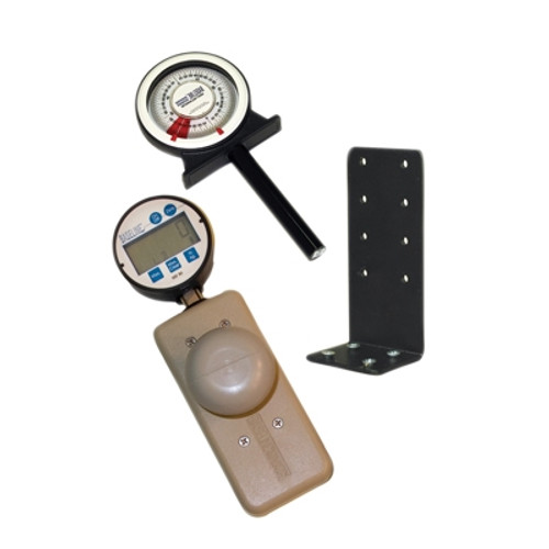 Baseline Wrist Evaluation Set, Digital Dynamometer w/Knob, Goniometer and Table-Mount