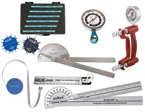 Baseline 8-Piece LITE Hand Evaluation Set with Discrim-A-Gon and 5-Piece Sensory Set