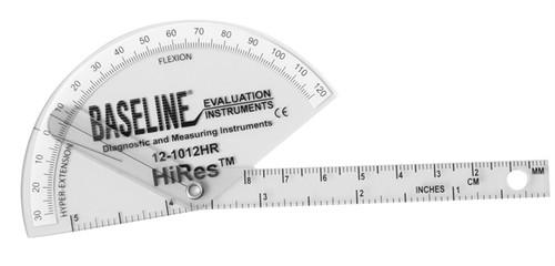 Baseline HiRes Flexion/Hyper-Extension Plastic Finger Goniometer