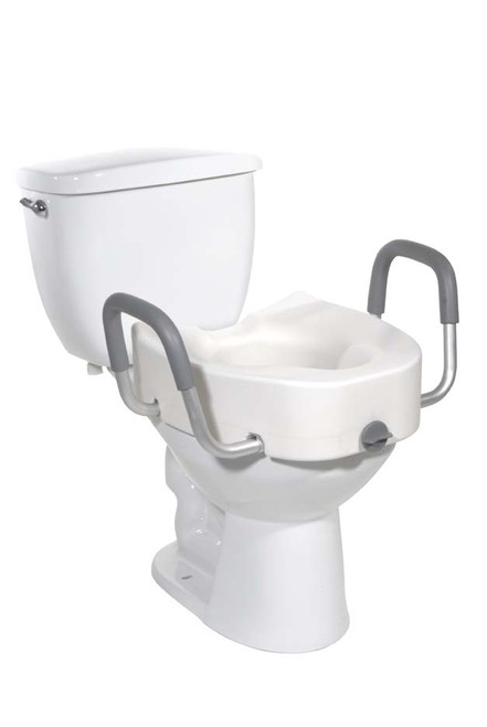 Drive Elevated Raised Toilet Seat with Arms