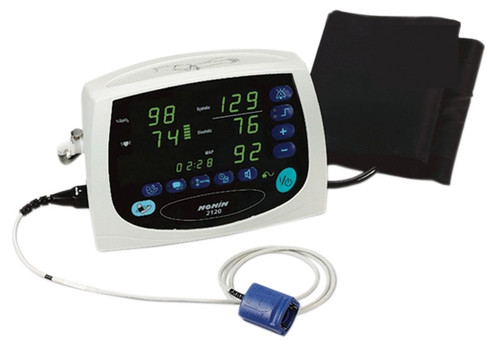 Nonin Pulse Oximeter/Blood Pressure Cuff - Avant 2120