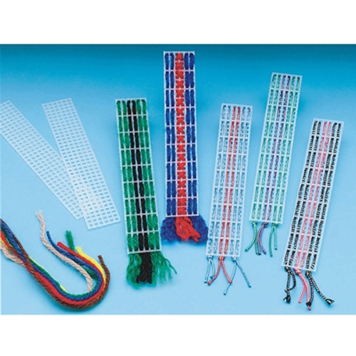 Allen Diagnostic Module Metallic Cord Bargello Bookmarks, Pack Of 6
