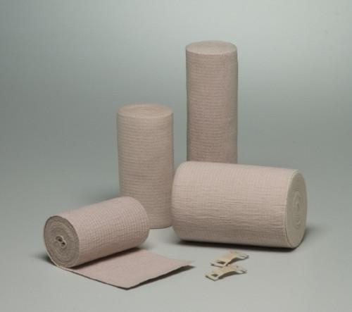 Premium Elastic Bandage McKesson Clip Detached Closure NonSterile