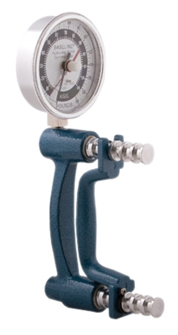 Baseline ER, HiRes, Large Head, Hydraulic Hand Dynamometer, 300Lb.