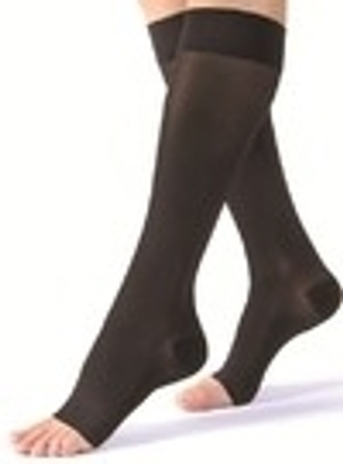 Stocking Knee-High 30-40 Black Medium
