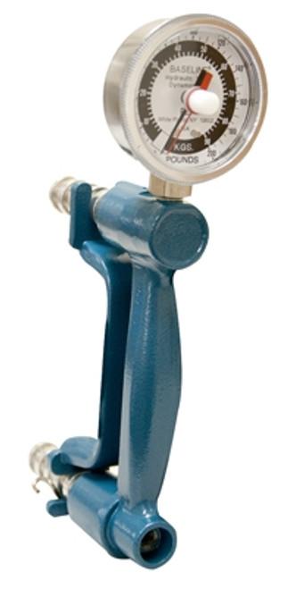Baseline 200 Lb. Standard Hydraulic Hand Dynamometer, Exercise/Feedback Model