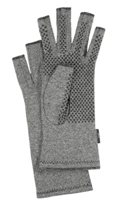 Compression Glove IMAK Compression Active Open Finger Wrist Length Hand Specific Pair Cotton