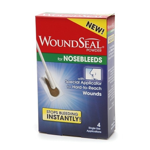 Hemostatic Agent WoundSeal Individual Packet Hydrophilic Polymer Potassium Ferrate