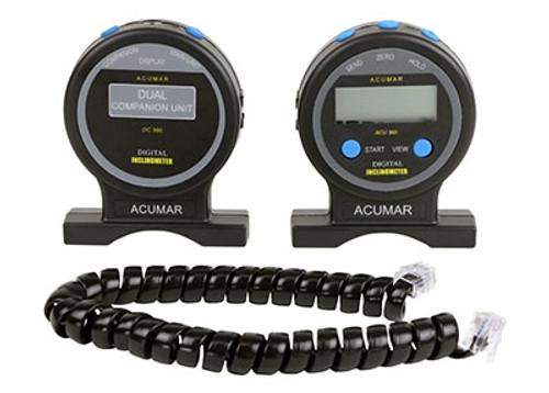 Acumar Dual Inclinometer, Complete Set