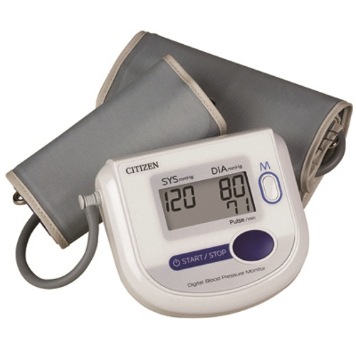 Automatic Inflation Blood Pressure and Pluse Monitor, Wide Range Cuff