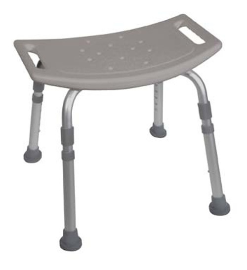Drive Deluxe Aluminum Bath Bench without Back