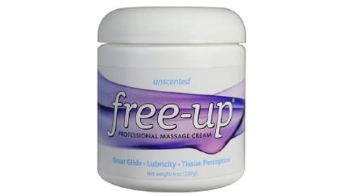 Massage Treatment Free- Up Unscented Cream