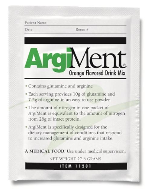 Arginine / Glutamine Supplement ArgiMent Individual Packet Powder