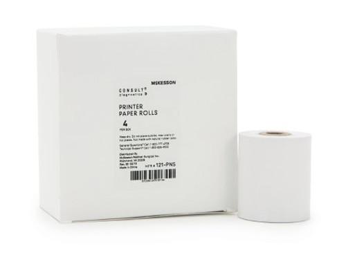 McKesson Printer Paper Rolls - 120 Urine Analyzer