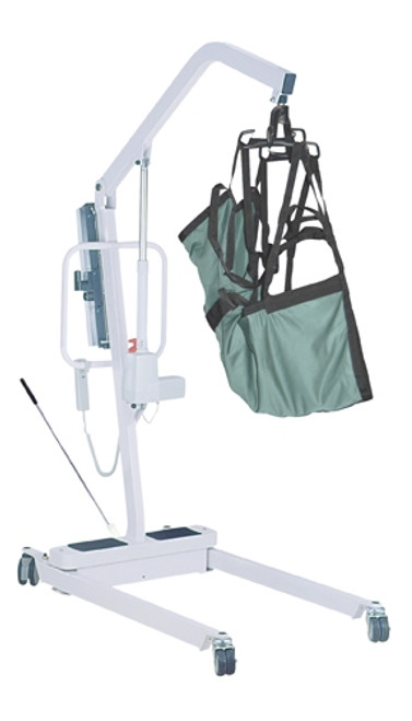 Electric Patient Lift with 6 Point Cradle