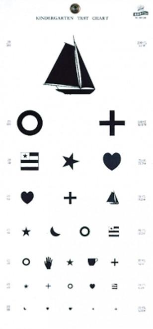 Kindergarten Plastic Eye Chart