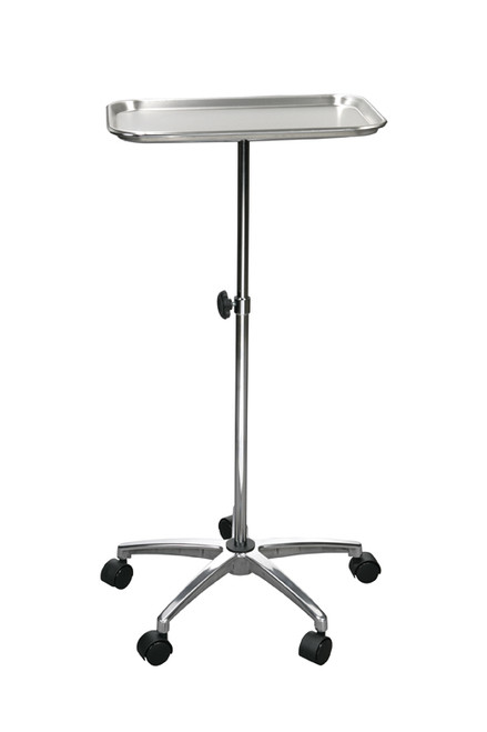 """Drive Mayo Instrument Stand with 5"""" Casters"""
