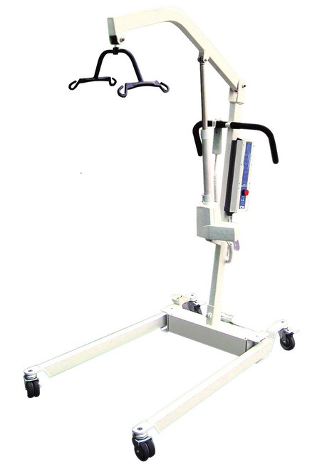 Bariatric Electric Patient Lift w/ 6 Point Cradle