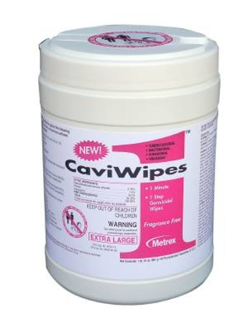 Alcohol Surface Disenfectant, CaviWipes - Disposable