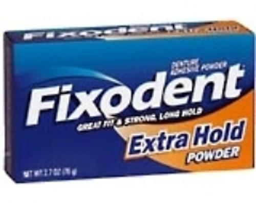 Denture Adhesive Fixodent