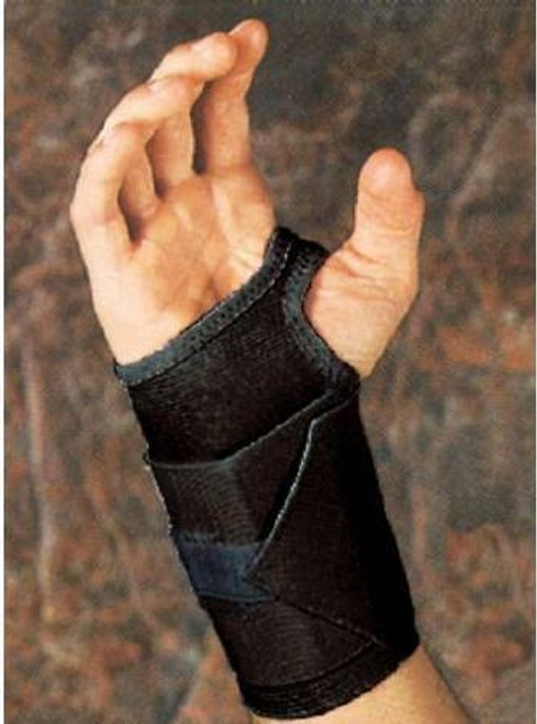 Wrist Support Tension Strap Elastic Right Hand Black Large