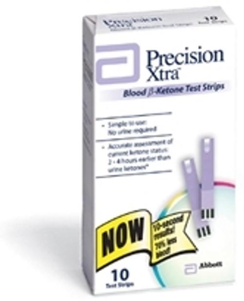 Blood Ketone Test Strips Precision Xtra