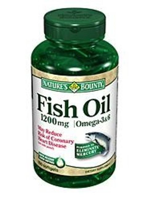 Omega-3 Fish Oil Supplement