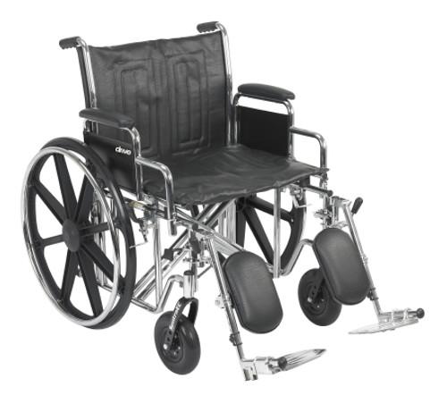 mckesson heavyduty wheelchair swing away leg rests