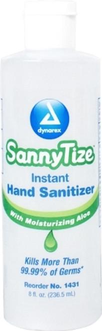 Hand Sanitizer SannyTize Alcohol (Ethyl) Gel Bottle